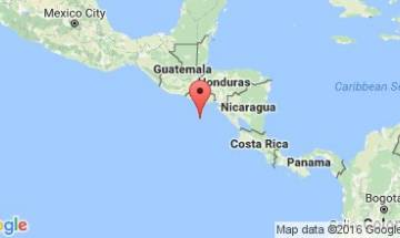 Central America hit by powerful earthquake and hurricane
