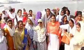 Watch: Women activists enter Mumbai's Haji Ali Dargah after winning long legal battle