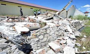 3 children killed, 12 injured as school's wall collapses in Kannauj