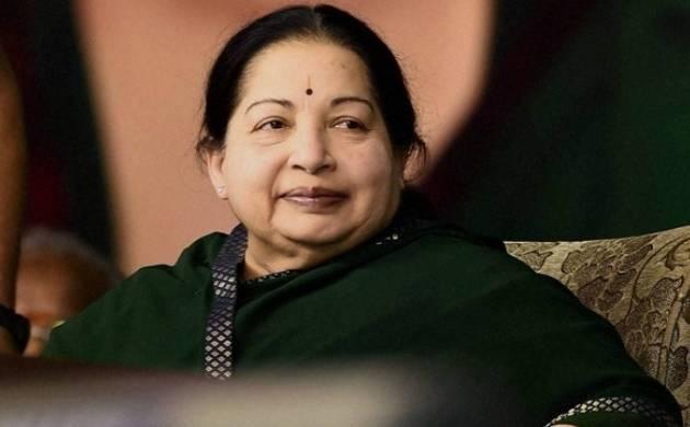 Tamil Nadu Chief Minister J Jayalalithaa- File Photo