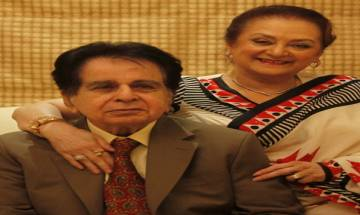 Dilip Kumar is much better now, says Saira Banu