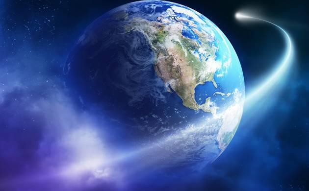 Hot atomic hydrogen atoms found in earth's atmosphere