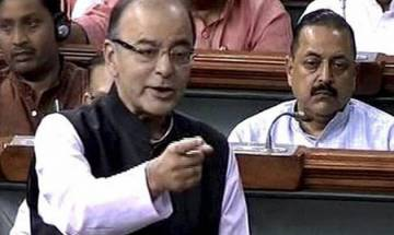 I challenge Congress to tell about even one step taken to curb black money in 10 years, says Jaitley in Lok Sabha