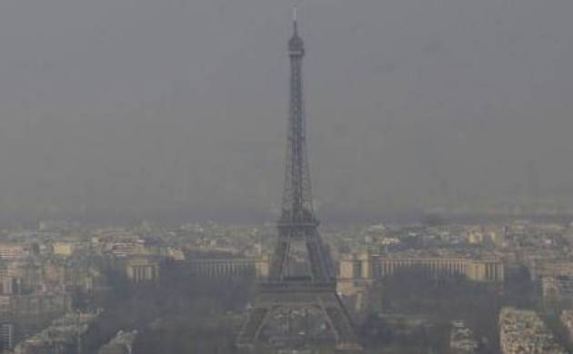 Pollution has engulfed French capital Paris