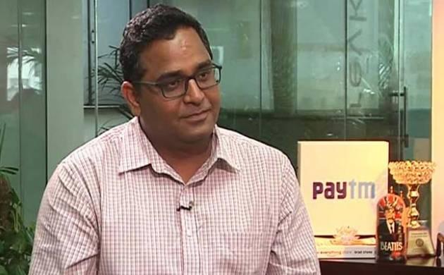 A file photo of Paytm founder Vijay Shekhar Sharma
