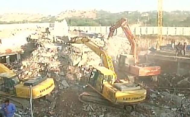 Hyderabad building collapse, Hyderabad, building collapsed, Hyderabad Police, NDRF,