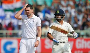 India vs England: James Anderson ruled out of final Test