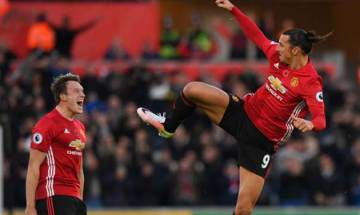 Ibrahimovic's star performance leads United to late victory over Palace