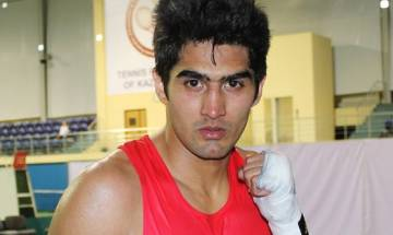 Vijender eyes another knockout win in title defence