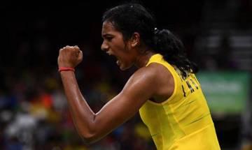 Sindhu defeats World Champion Carolina, moves into semi-finals at BWF World Super Series Finals