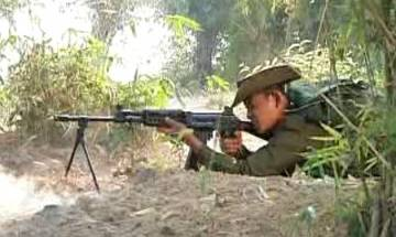 Myanmar military launches attacks on ethnic rebel groups