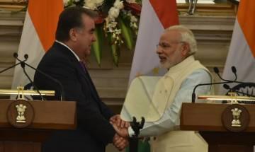 India, Tajikistan decide to strengthen anti-terror, defence cooperation