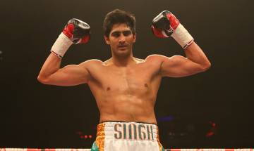 'Unbeaten' Vijendra Singh knocks out Francis Cheka to retain WBO-Asia Pacific Super Middleweight title