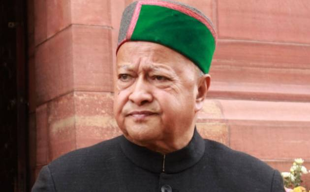 A file photo of Himachal Pradesh Chief Minister Virbhadra Singh