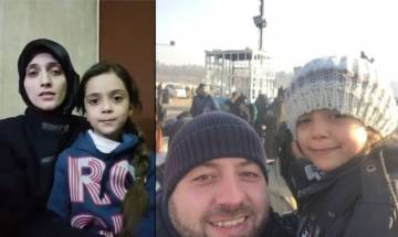 Aleppo's 7-yr-old Bana Alabed who tweeted a video message to Michelle Obama for help evacuated safely from Syria