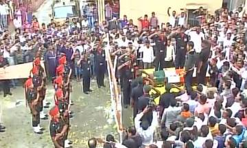Pampore Attack: Martyr Saurabh Farate cremated with full military honours
