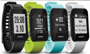 Garmin Forerunner 35 with inbuilt GPS watch launched at Paytm: Check price, features and more