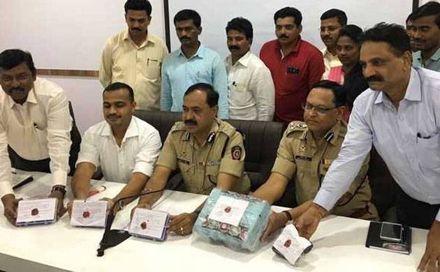 Thane police seize about 9 kg depleted uranium worth Rs 24 crore, 2 detained (Picture: ANI)