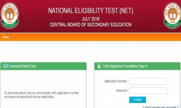 CBSE UGC NET Admit card 2017 to be released on December 28 at cbsenet.nic.in