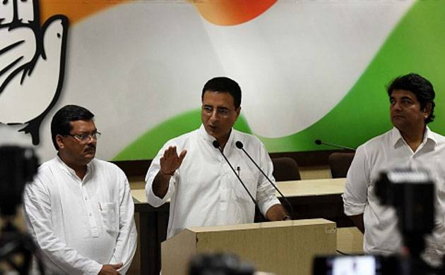 Randeep Surjewala (Image: Getty)