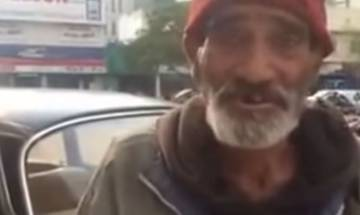 Watch: A Pakistani beggar who speaks fluent English