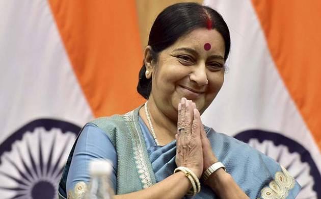 A file photo of External Affairs Minister Sushma Swaraj