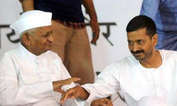 Anna Hazare writes letter to Delhi CM, questions Kejriwal over donors list