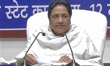 Watch | Mayawati in Lucknow: Time for Sanghis, Muslims to back BSP so that BJP can be defeated in next UP assembly polls