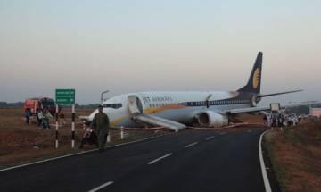 Jet Airways Goa-Mumbai flight skids off runway: 15 injured