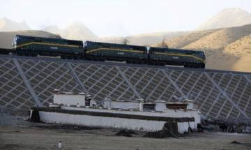 In a first, China begins to transport bottled water from Tibet's Himalayan rivers by charter trains