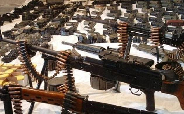 Arms and Ammunition( File Photo)