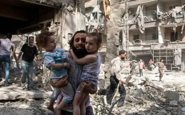 Air strikes in Damascus - Representative image (File photo)