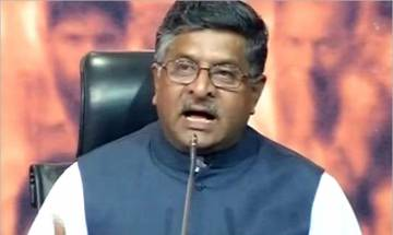 Video | Upset Ravi Shankar Prasad slams Opposition for repeated corruption charges against BJP chief Amit Shah