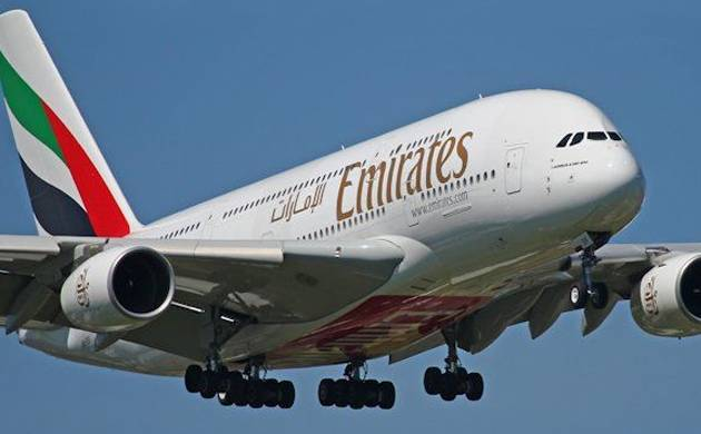 Emirates gets it first Airbus A380 crafts equip with a Rolls Royce engine (File Pics)