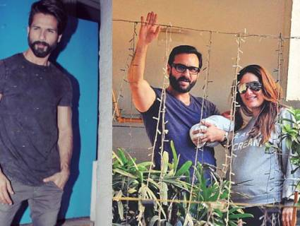 This how ex-boyfriend Shahid Kapoor reacted to the birth of