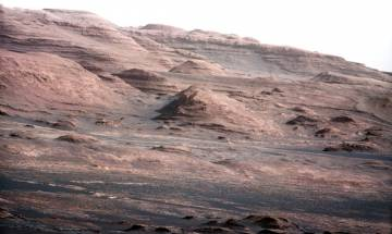 Purple-coloured rocks discovered on Mars by NASA's Curiosity Rover