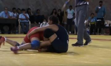 Video: When Geeta Phogat locked horns with Sakshi Malik
