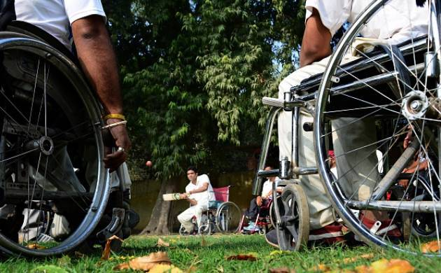 Disabled people (File photo)