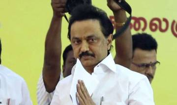 M K Stalin appointed as DMK working president by party general council