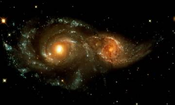 For the first time astronomers discover powerful 'cosmic double whammy'