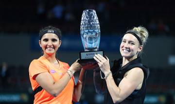 Sania Mirza victorious at Brisbane International but loses number 1 rank to doubles partner
