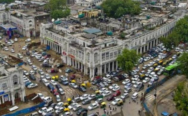 Traders to meet Kejriwal against making Connaught Place vehicle-free (PTI file photo)