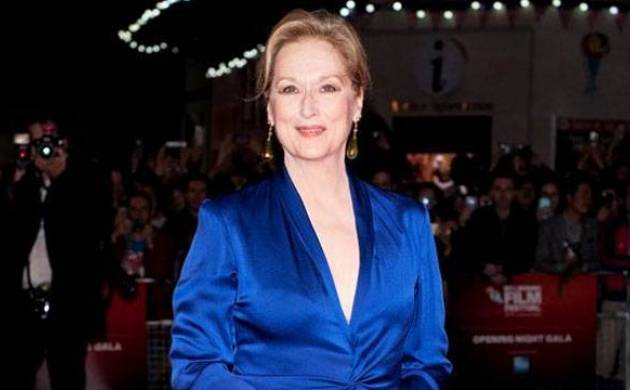 Meryl Streep at Golden Globes - File Photo