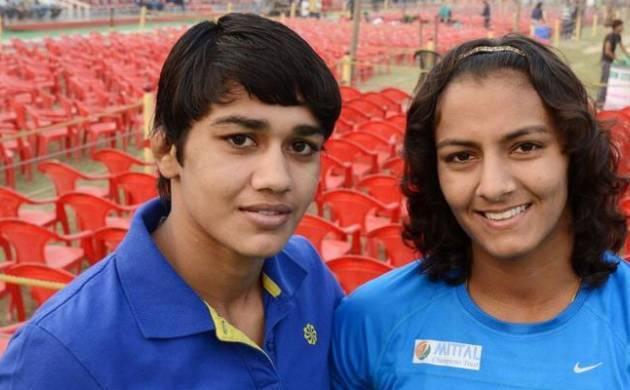Geeta Phogat and Babita Phogat