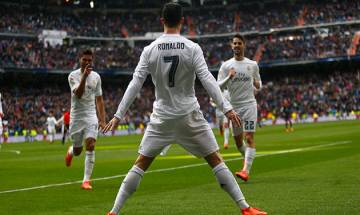 Real Madrid star Ronaldo battles for Fifa world's best player award