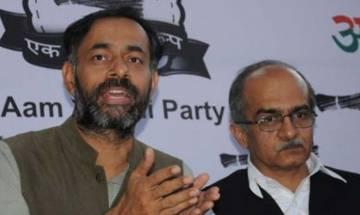 Arvind Kejriwal using Delhi as 'stepney', should quit: Yogendra Yadav