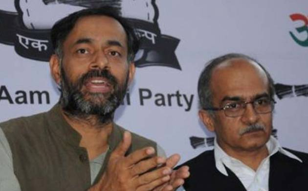 A file photo of Swaraj India President Yogendra Yadav