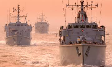 UAE, British start naval exercise amid Gulf Arab tensions with Iran