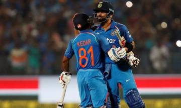 India vs Eng ODI win: Captain Kohli terms his partnership with Jadhav special