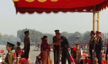 Army Chief Bipin Rawat awards Sena Medal to Siachen braveheart Lance Naik Hanamanthappa Koppad
